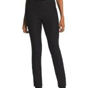 New Chico's Petite Brigitte Pants Size 3P Black